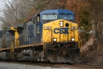 CSX 66 rolls toward Renfro Valley