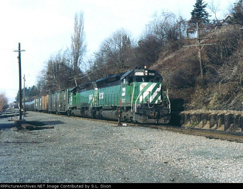 BN 6538 South