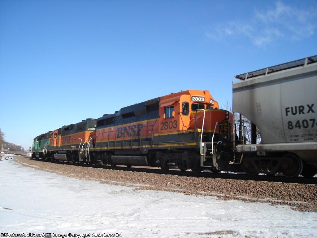 BNSF 1516 west