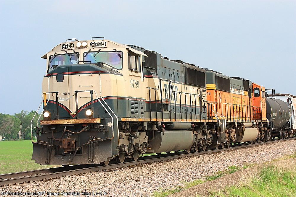 BNSF 9789 North