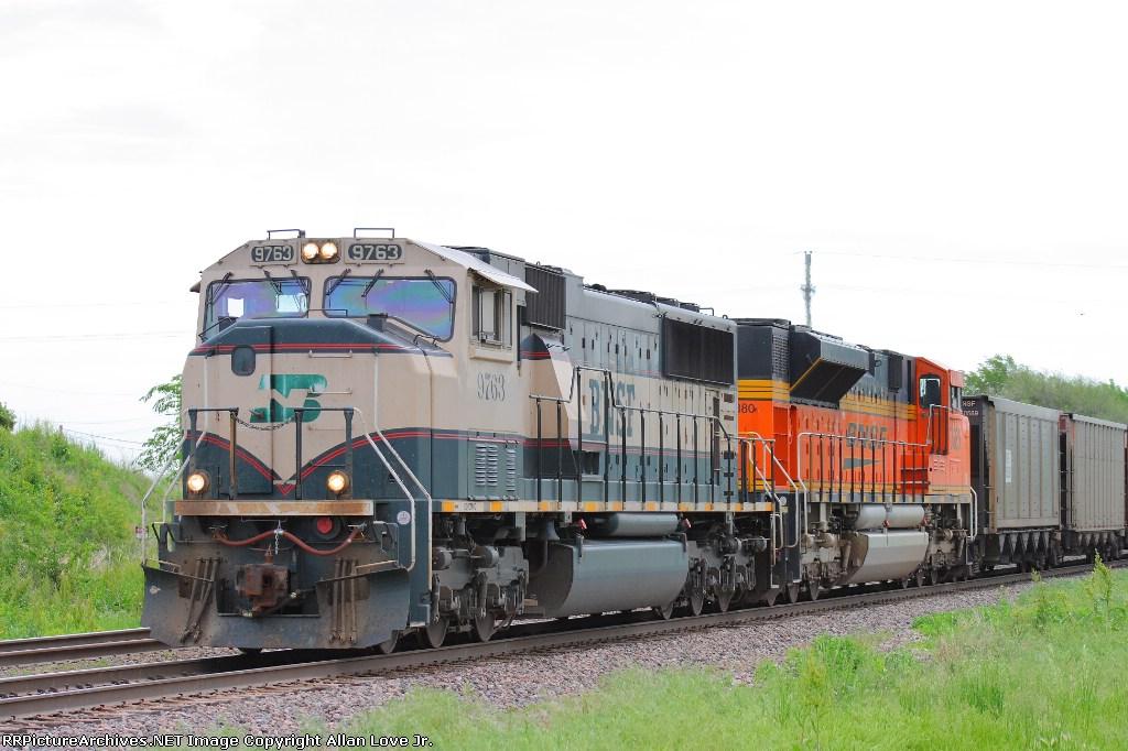 BNSF 9763 west