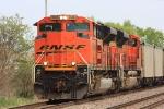 BNSF 9384 west