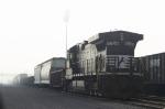 Locomotive in the fog