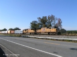 X920 approaches Galliver siding on the way to the Chattahoochee River Yard