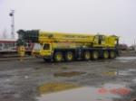 Departing crane