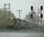 G89427 in a heavy downpour
