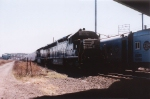 An ex-Erie Lackawanna SD45-2 powered circus train