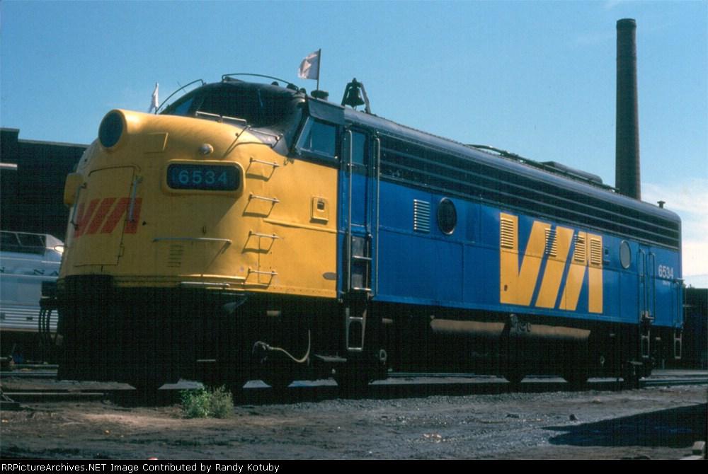Via 6534 Toronto ON September, 1978