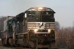 NS 2766 eastbound at South Plainfield NJ 12/17/06