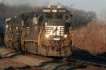 NS 3533 eastbound at South Plainfield NJ 02/11/07