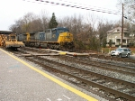 CSX Track Realignment at St.Denis