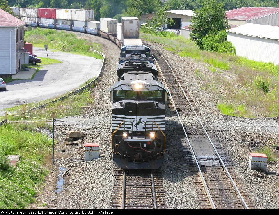 East Bound Stack Train