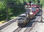 C40-9W NS 9269 Passing MP 239.7 In Dynamics