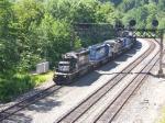 NS 3344 On Coal Train