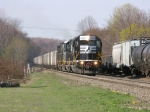 Coal Train Passing Mixed Freight