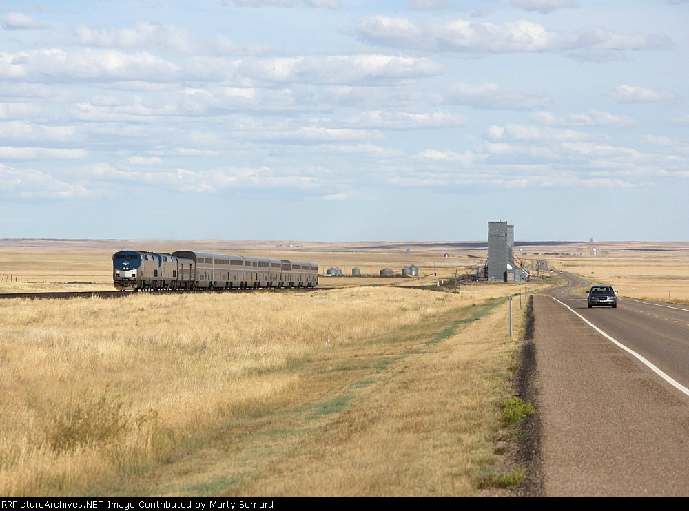 AMTK 79 and 1 Zip the WB Empire Builder