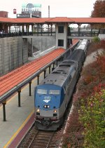 Amtrak #1 With Train 80, The Carolinian