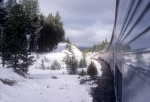 AMTK 319, Tr. 14, Coast Starlight in the Cascades