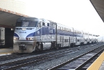 Surfliner Between Runs at LA Union Station