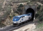 Amtrak #14 Detour at Tunnel 2 Between Bealville and Caliente