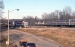 AMTK 805 and 803 Prepare to Head for Florida With The Auto Train