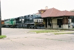 NS 9861 at old Missouri Pacific Rail Station