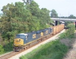 CSX 5241 on Q142 heading north