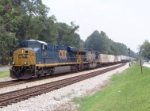 CSX 5398 on Q124 heading north