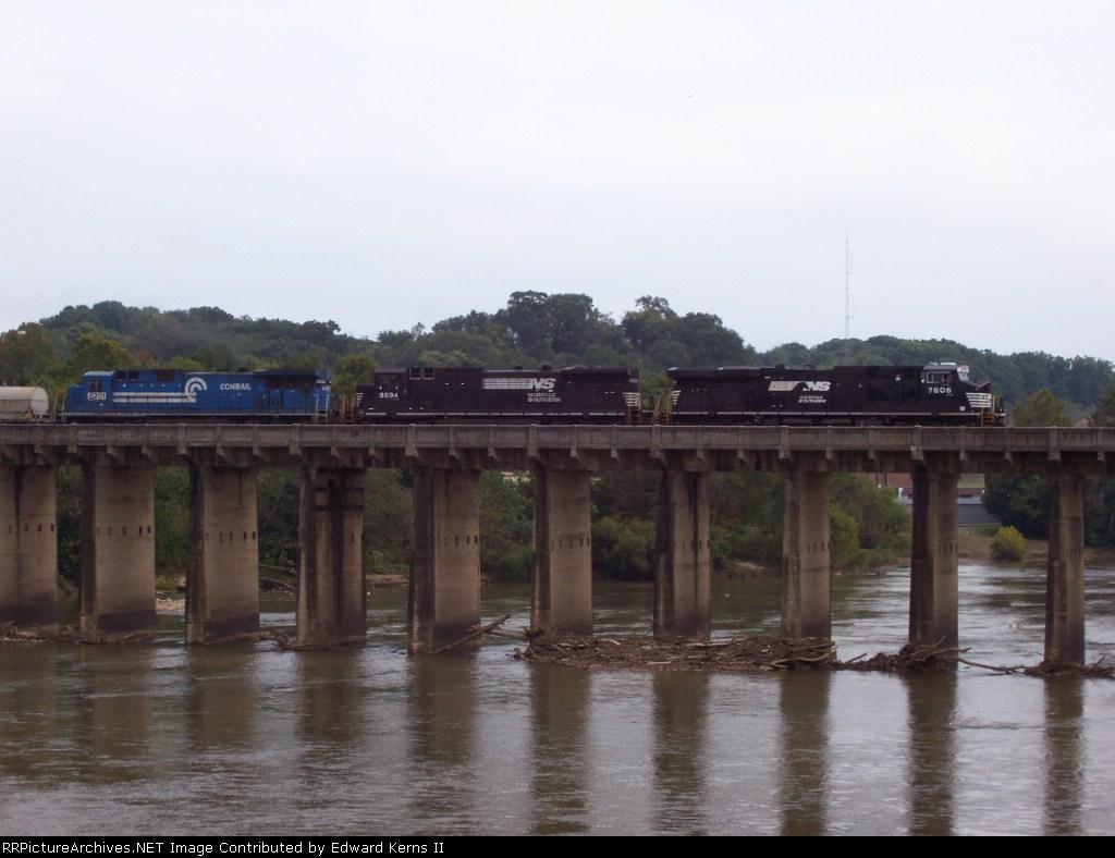 Crossing the Dan River