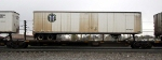 Spline Car with BNSF Trailer