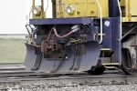 BNSF 8706 Front Plow Detail