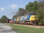 CSX 7720 on Q141 heading south
