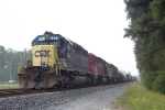 CSX 8485 on Q550 heading north
