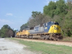 CSX 8726 on Q679 heading south