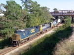 CSX 7387 on Q124 heading north