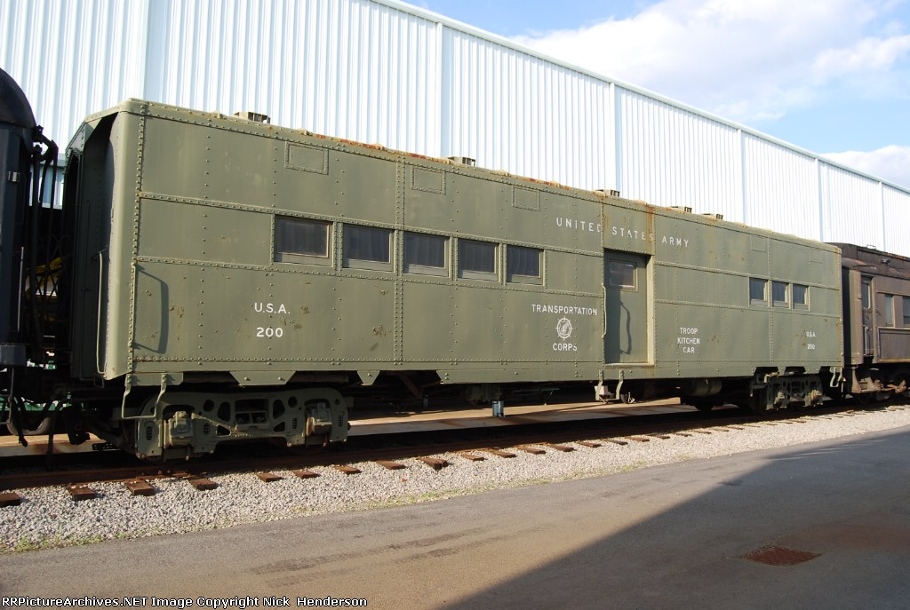 USAX 200 Troop Kitchen car