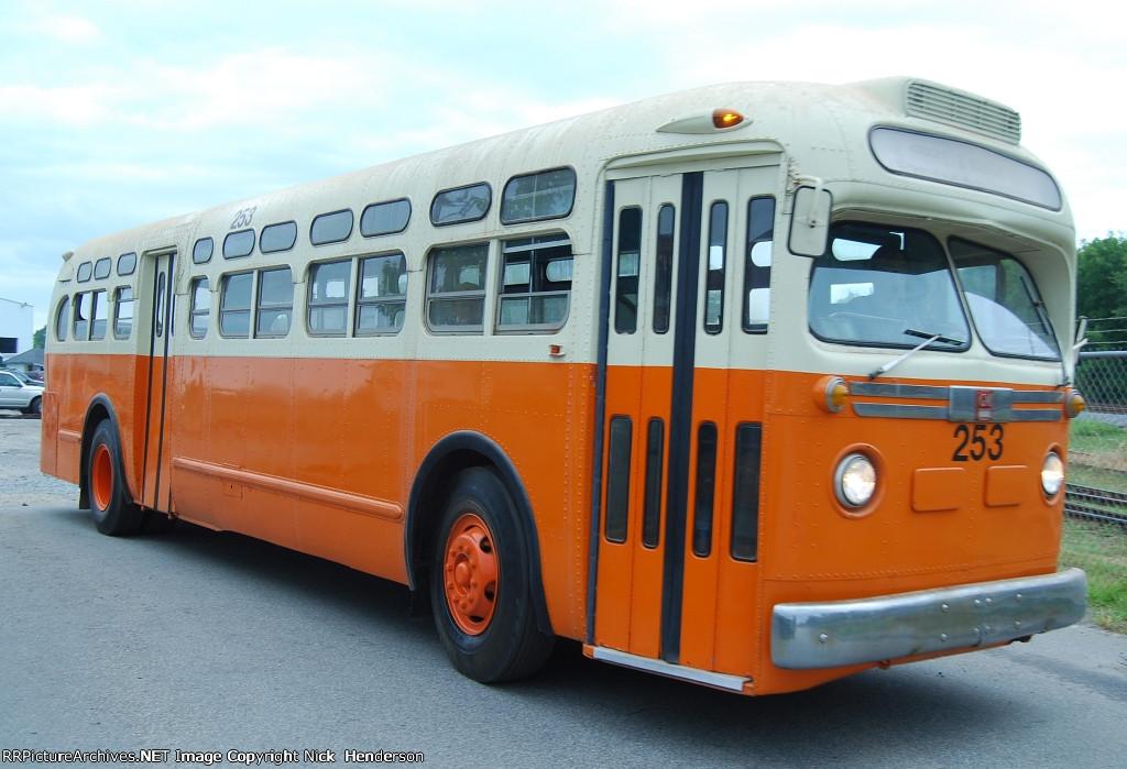 Atlanta Transit Company GMC bus #253