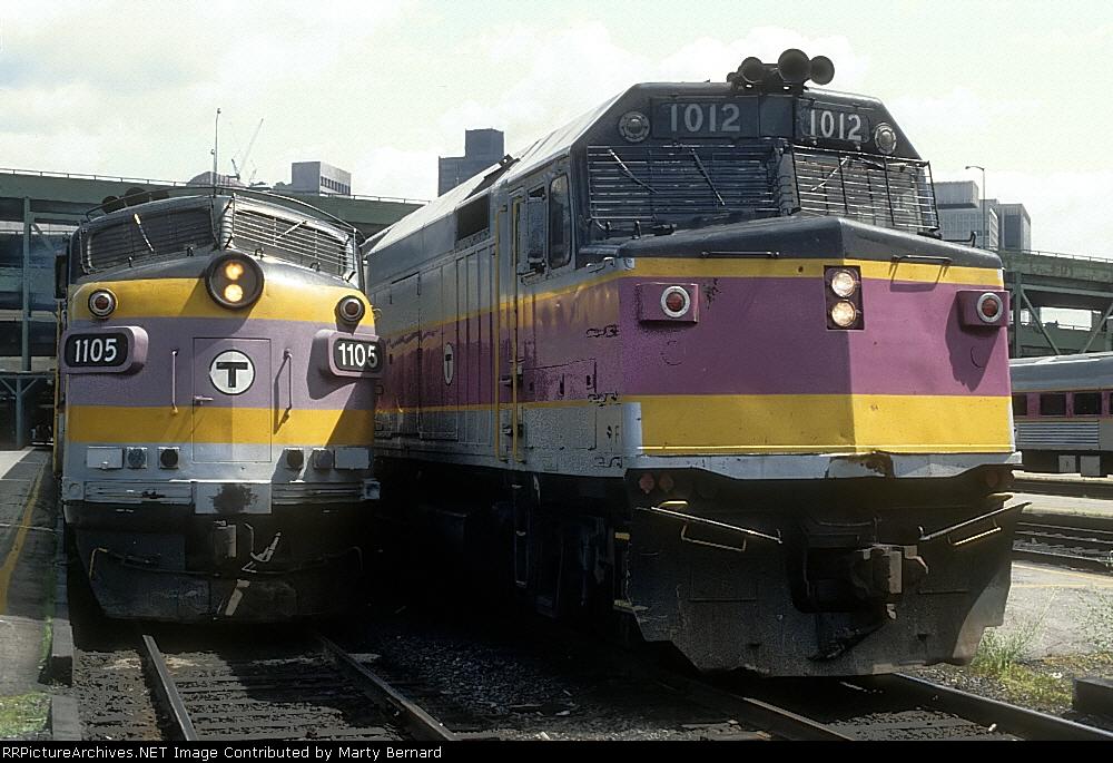 MBTA 1105, North Station
