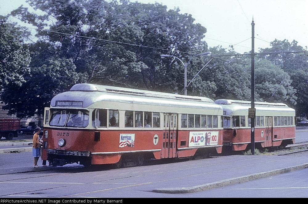 MBTA 3175 at Commonwealth and Brighton