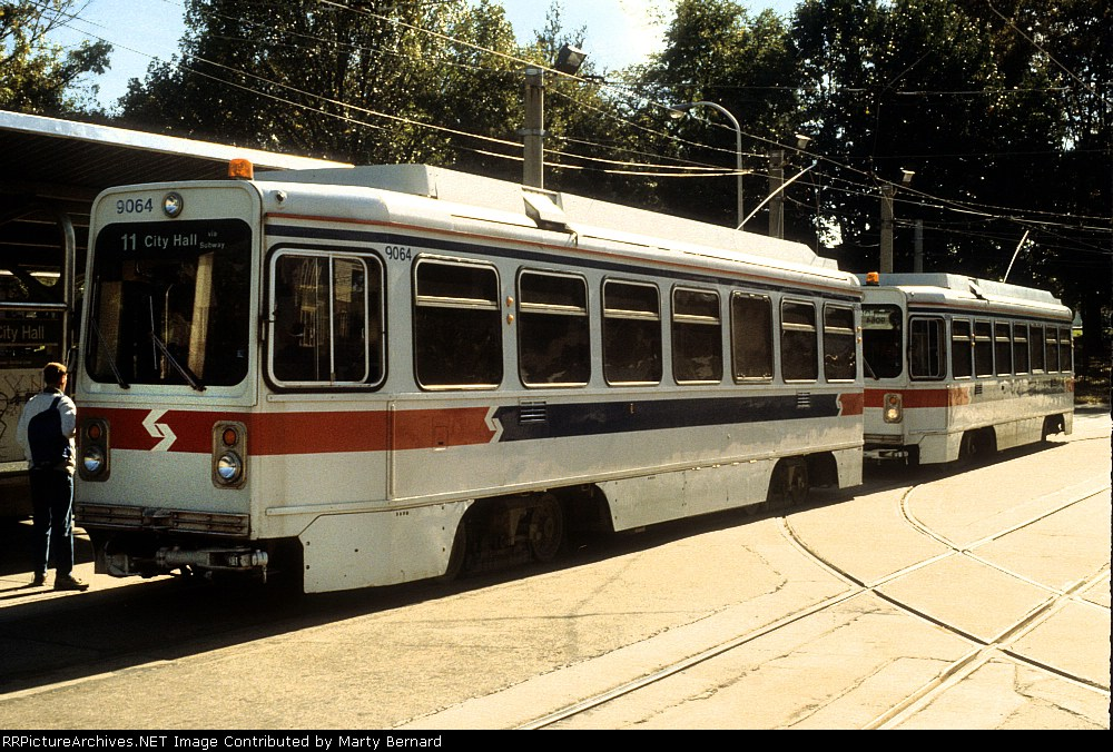 SEPTA 9064 and 9066