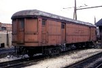 Express Car in Yard, Built in 1926 as Indiana RR 375