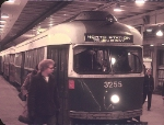 MBTA 3255 in Park Street Station