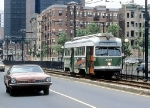 MBTA 3255 on Huntington Ave.