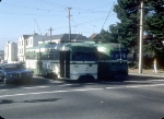 MUNI 1151 and 1155, Coming and Going on L Taraval