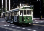 MUNI 496 in Historic Street Car Parade