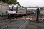 NJT 4506 in Yard and Being Blue Flagged (Metal Flag and Blue Light)