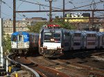 NJT 4649 and PATH