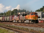 BNSF 4140, 951, and 633