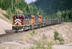 QCM 84 81 43 are north bound at mp 22.3,