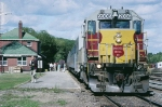 WC 2006 (ex Algoma Central) with train #2,